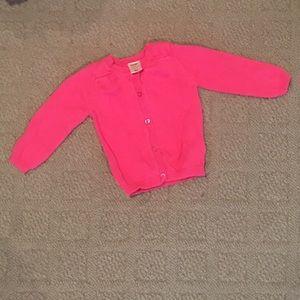 12-18M Pink Knit Sweater
